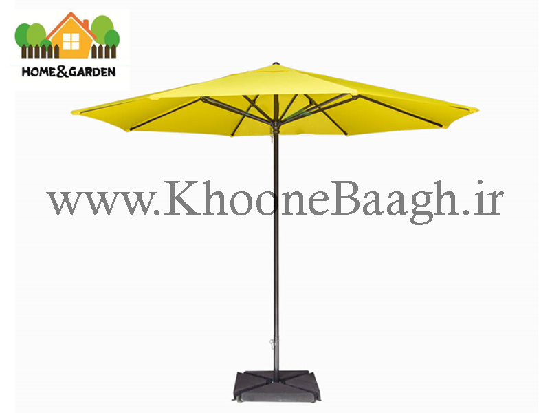 چتری آلومینیومی هشت ضلعی