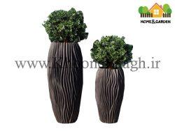 گلدان مدل تنه درختی