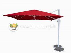 سایبان چتری پایه کنار مدل شایلی