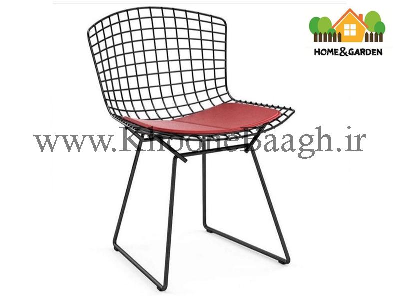 صندلی فلزی برتویا رنگی